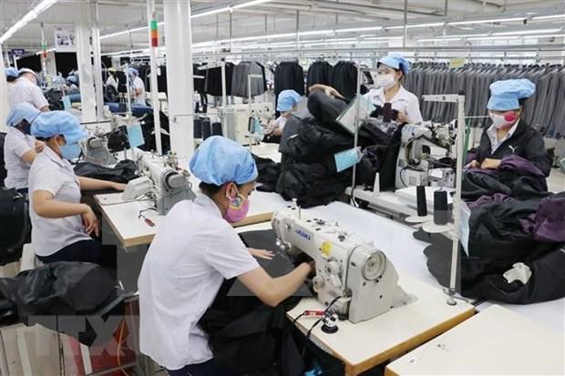 Camboya recibe 200 contendedores de materias primas textiles de China hinh anh 1