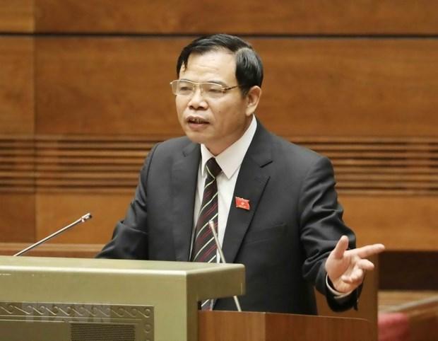 Ministro de agricultura supervisa el desarrollo en provincia vietnamita de Phu Tho hinh anh 1