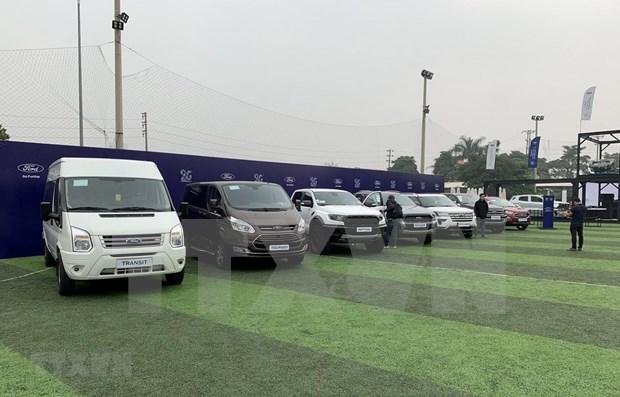 Ventas de automoviles en Vietnam aumentan en febrero hinh anh 1