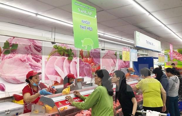Aumentan importaciones de carne de cerdo en Vietnam hinh anh 1