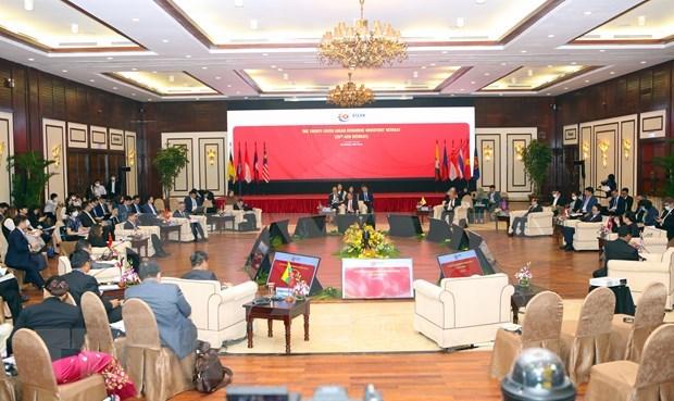 ASEAN busca promover negociaciones de acuerdo de asociacion economica regional hinh anh 1