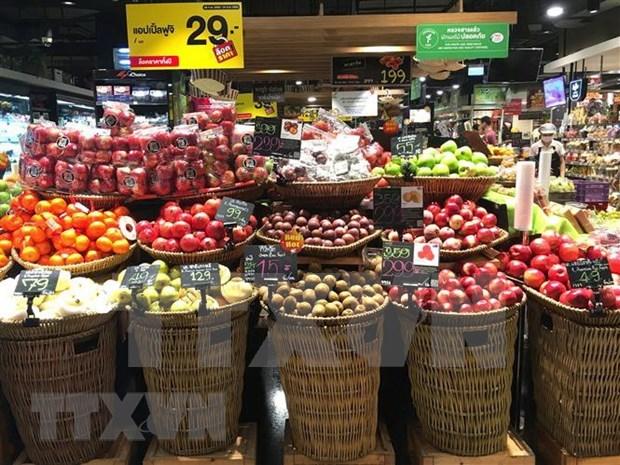 Exportaciones de fruta de Tailandia enfrentan dificultades hinh anh 1