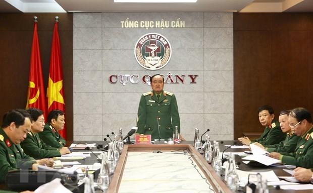 Ejercito de Vietnam se prepara para responder ante posibles escenarios del COVID-19 hinh anh 1