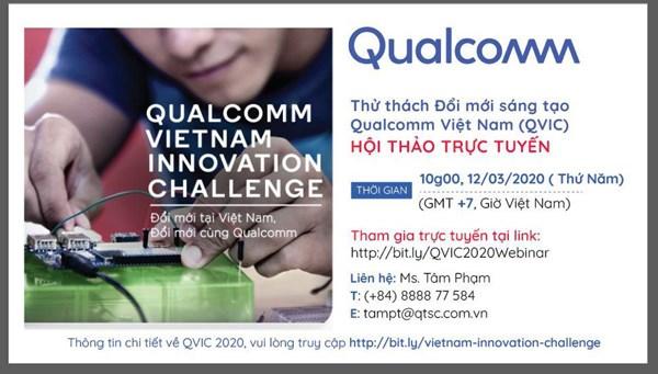 Qualcomm lanza concurso para startup de tecnologia en Vietnam hinh anh 1