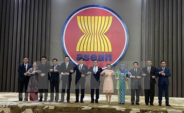 ASEAN y Japon comprometidos a fortalecer asociacion estrategica bilateral hinh anh 1