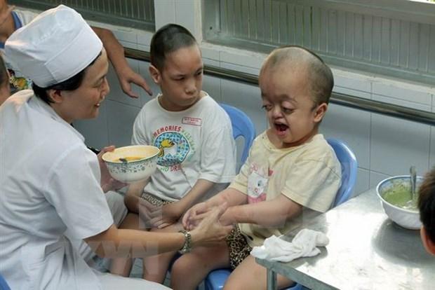Lanzan en Vietnam movimiento a favor de victimas de dioxina hinh anh 1