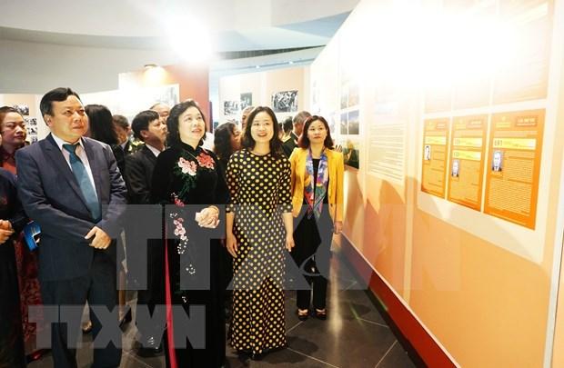 Exposicion conmemora aniversario del Comite del Partido Comunista de Vietnam en Hanoi hinh anh 1