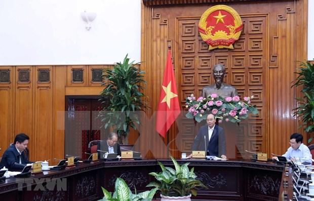 Premier vietnamita insta a acelerar importantes proyectos de transporte hinh anh 1