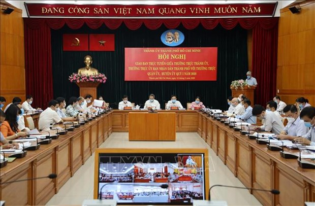 Revisan preparativos para asamblea partidista de Ciudad Ho Chi Minh hinh anh 1