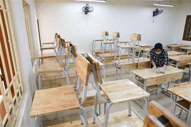 Extienden suspension de actividades escolares en Vietnam hinh anh 1