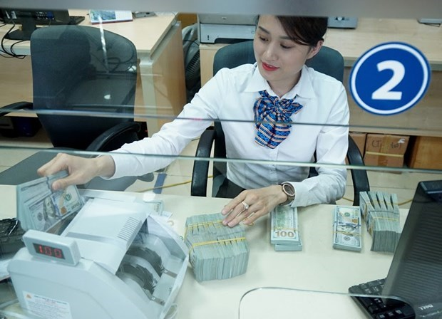 Banco Estatal de Vietnam pide desinfectar dinero en efectivo para frenar propagacion de COVID-19 hinh anh 1