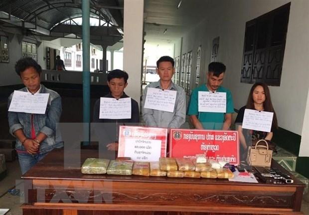 Provincias vietnamita y laosiana neutralizan red de narcotrafico transfronterizo hinh anh 1