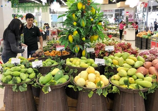Resultara dificil alcanzar objetivo de exportacion de frutas y verduras de Vietnam en 2020 hinh anh 1