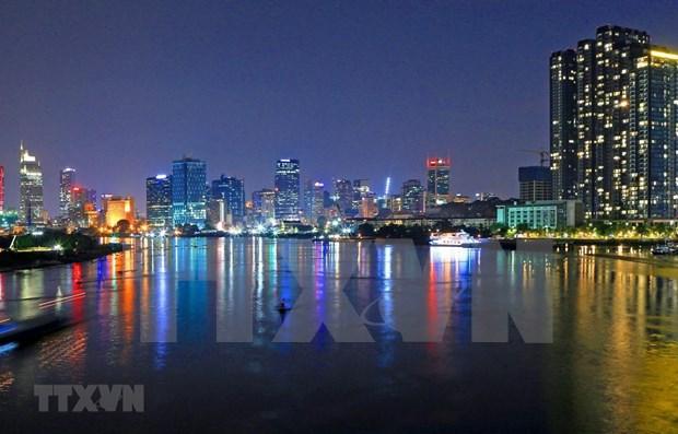 Ciudad Ho Chi Minh en camino de convertirse en un centro financiero internacional hinh anh 1