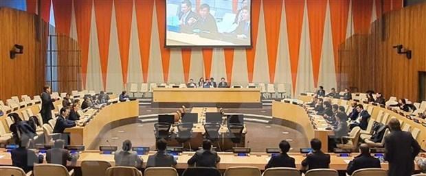 Destaca alto funcionario ruso cooperacion con Vietnam en la ONU hinh anh 1