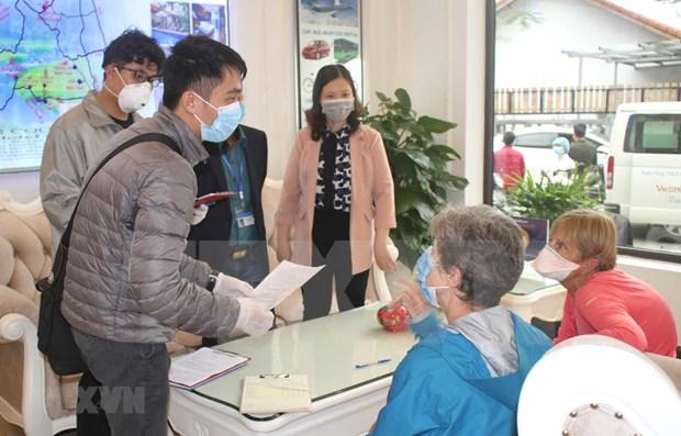 Turistas en provincia de Ninh Binh deben registrar declaraciones medicas hinh anh 1