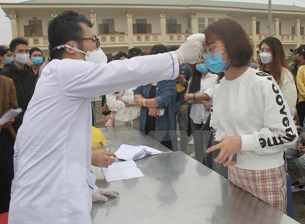 Completan primeros ciudadanos en Thanh Hoa aislamiento medico por COVID-19 hinh anh 1