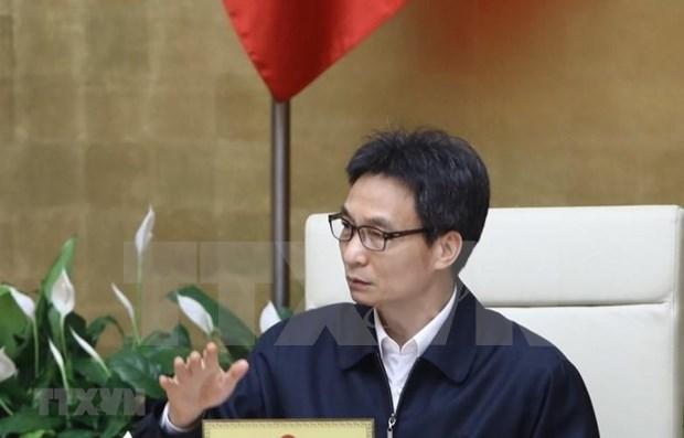 Empenado Vietnam en desplegar fuertes medidas para contener el COVID-19 hinh anh 1