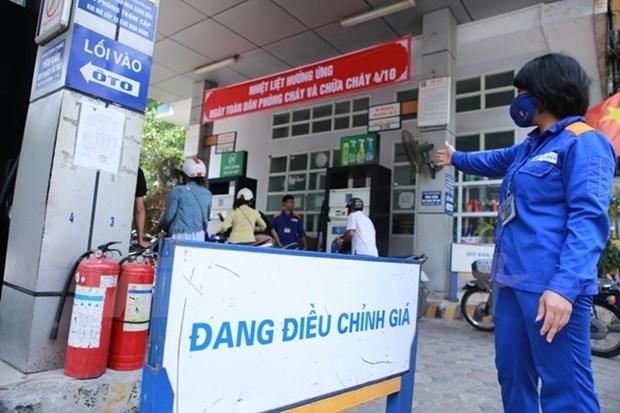 Caen precios minoristas de la gasolina en Vietnam hinh anh 1