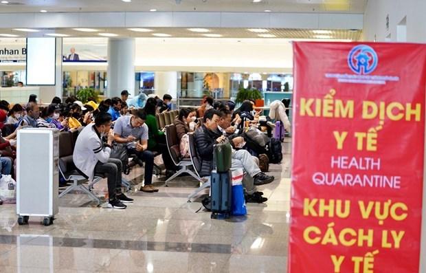 COVID-19: pasajeros de paises de la ASEAN sujetos a cuarentena obligatoria hinh anh 1