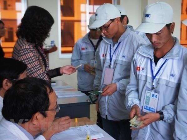 Realizaran examenes de idioma coreano para trabajadores vietnamitas en linea hinh anh 1