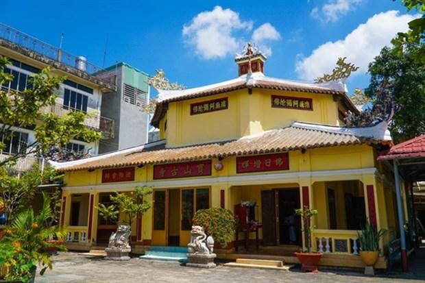 Atractiva Pagoda de Buu Son en la provincia survietnamita de Dong Nai hinh anh 1
