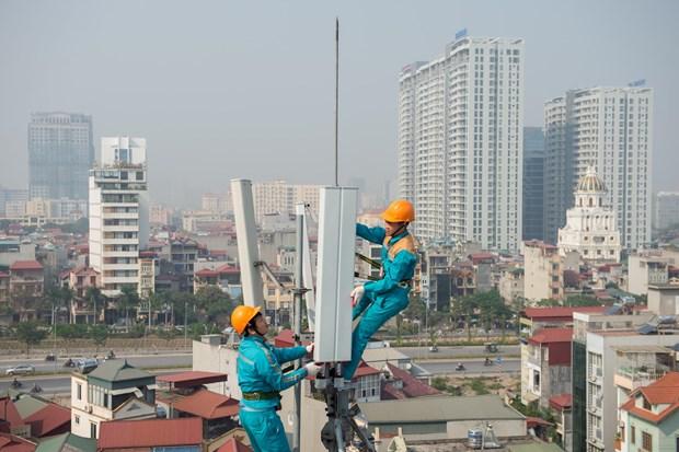 Ingresos del grupo de telecomunicaciones Viettel aumentaron en febrero hinh anh 1