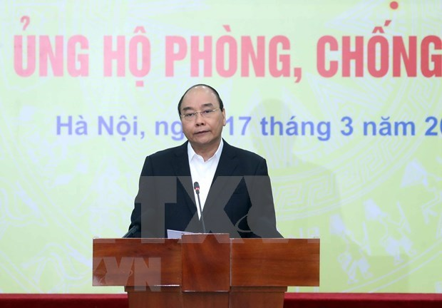 Recaba Vietnam apoyo comunitario en lucha contra el COVID-19 hinh anh 1