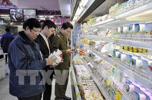 Hanoi ocupa el primer lugar en la inocuidad alimentaria hinh anh 1