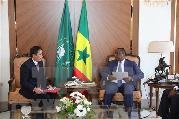 Vietnam y Senegal firmaran acuerdos para impulsar el comercio hinh anh 1