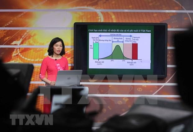 Desplegaran en Hanoi programas educativos por television hinh anh 1