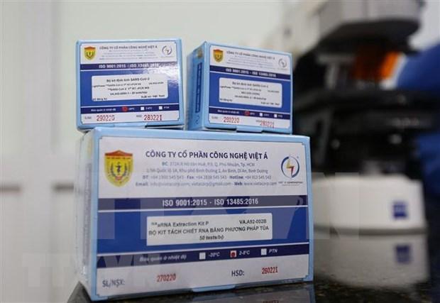 Numerosos paises solicitan kits de prueba SARS-CoV-2 hechos en Vietnam hinh anh 1