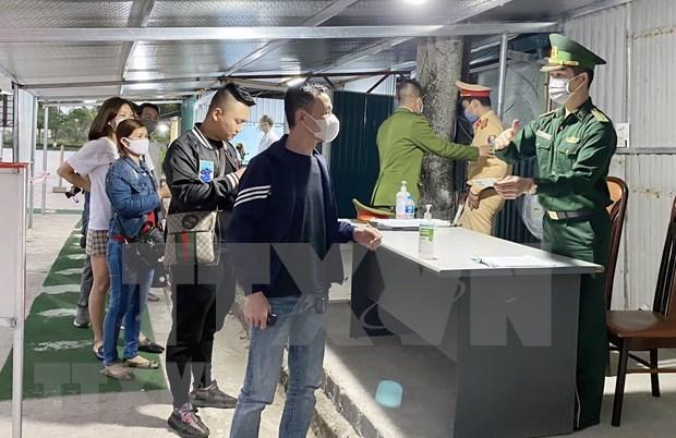 Provincia vietnamita establece puertas de control ante brote epidemico hinh anh 1
