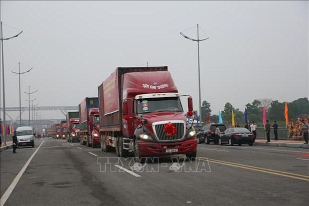 Senales alentadoras para el intercambio comercial transfronterizo entre Vietnam y China hinh anh 1