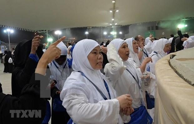 Ignoran peregrinos musulmanes riesgo de SARS-CoV-2 al reunirse en Indonesia hinh anh 1