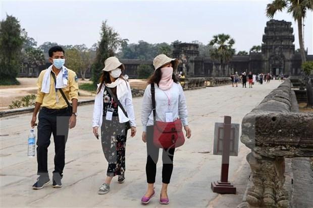 Suspenden temporalmente actividades en pasos fronterizos entre Camboya y Vietnam hinh anh 1