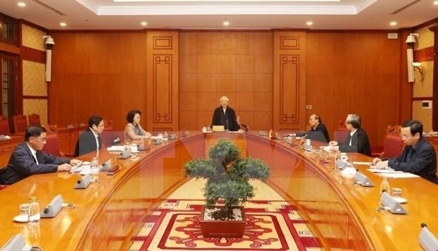 Continuan en Vietnam preparativos del XIII Congreso Nacional del Partido Comunista hinh anh 1