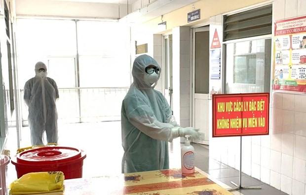 """COVID-19: Mas casos """"importados"""" en Vietnam, todos controlados desde aeropuertos hinh anh 1"""