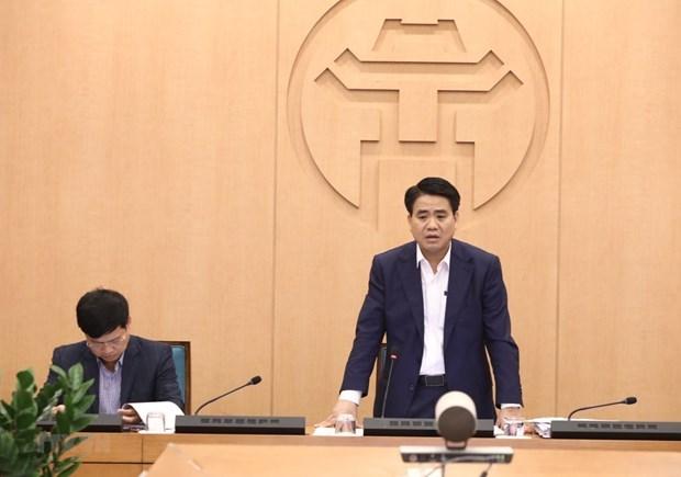 Desmienten informacion erronea sobre bloqueo de Hanoi hinh anh 1