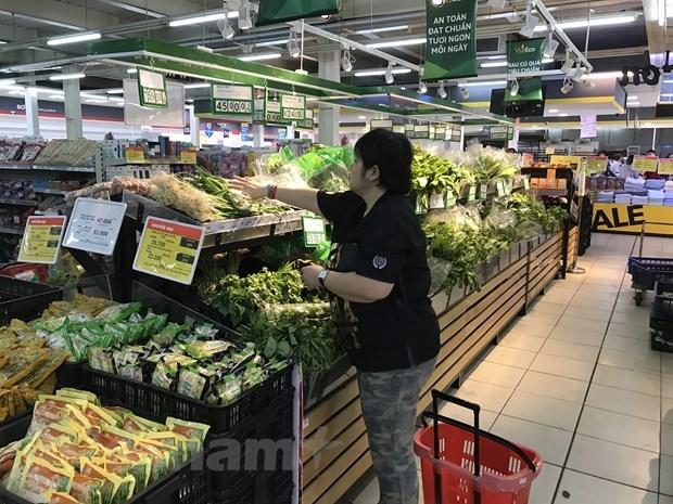 Garantizan en Vietnam el suministro de bienes esenciales hinh anh 1