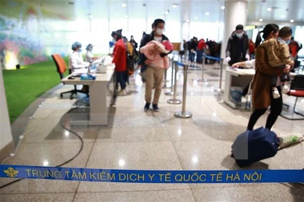Refuerza Vietnam labor de cuarentena para inmigrantes hinh anh 1
