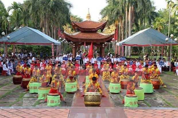 Celebraran en Vietnam principales ritos en homenaje a los reyes Hung hinh anh 1