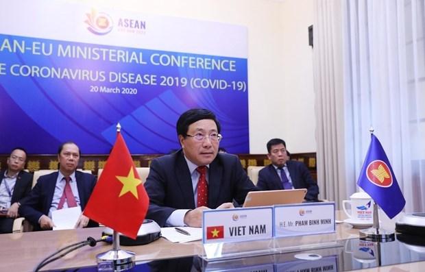 Vietnam reitera disposicion de cooperar con comunidad internacional en lucha contra COVID-19 hinh anh 1