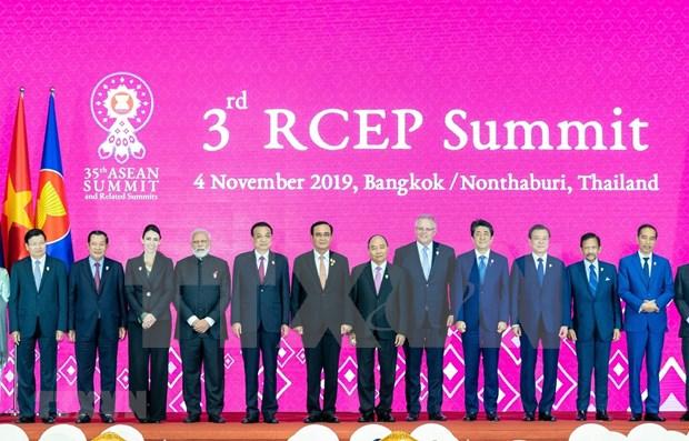 Socios de ASEAN por sellar el RCEP a finales de 2020 hinh anh 1