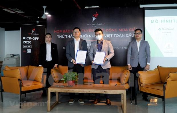 Convocan en Hanoi quinto concurso para emprendedores vietnamitas VietChallenge 2020 hinh anh 1