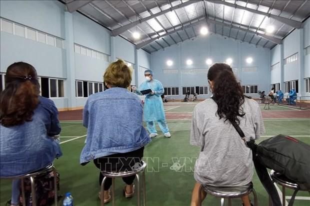 Laboratorio de Quang Ninh permitido para confirmar casos contagiados por COVID-19 hinh anh 1