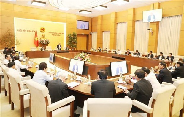 Comite Permanente de Asamblea Nacional de Vietnam inaugurara manana su 43 reunion hinh anh 1