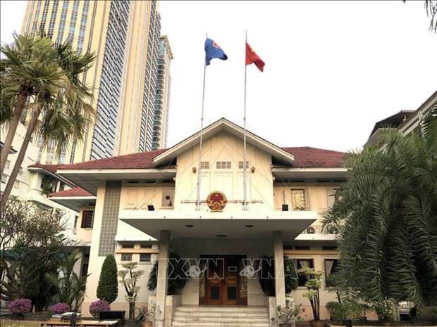 Embajada de Vietnam en Tailandia recomienda a connacionales cumplir con las medidas contra COVID-19 hinh anh 1