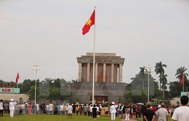 Suspenden visitas al Mausoleo de Ho Chi Minh por preocupaciones del COVID-19 hinh anh 1