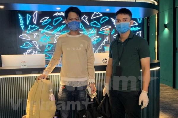 Embajada vietnamita en Malasia ayuda a coterraneo atrapado en aeropuerto hinh anh 1